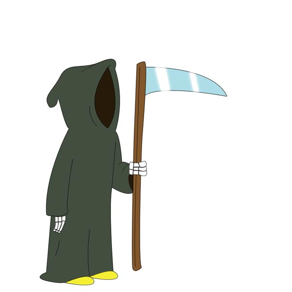 Drawing a Grim Reaper Using Photoshop
