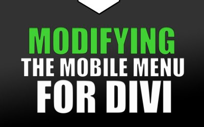 How to Modify the Divi Mobile Menu Style