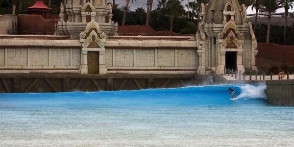 Siam Park Wave Pool in Tenerife Spain