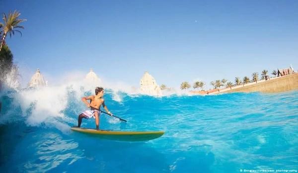 Wadi Adventure Wave Pool SUP Surfing