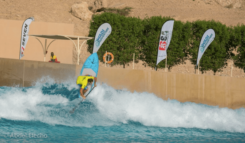 Abu Dhabi All Stars at Wadi Adventure Wave Pool April 2014