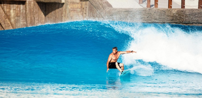 Murphy's Waves Siam Park Wave Pool Clean Right