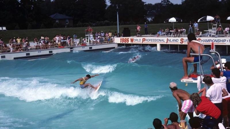 1985 Inland Surfing Championships Dorney Park Allentown Pennsylvania Wave Pool   Surf Park Central