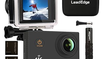 Action Camera WeyTy X6S 4K 30m Underwater Camera 16MP Wifi Sport