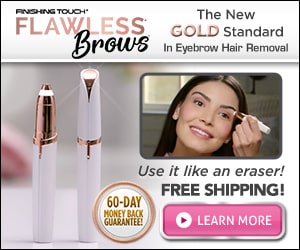 finishing touch eyebrow trimmer