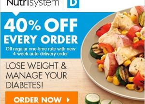 Nutrisystem D - Diabetic Food Plan
