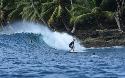 Surf as much uncrowded surf as possible!
