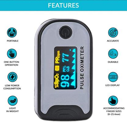 pulse oxi meter features india