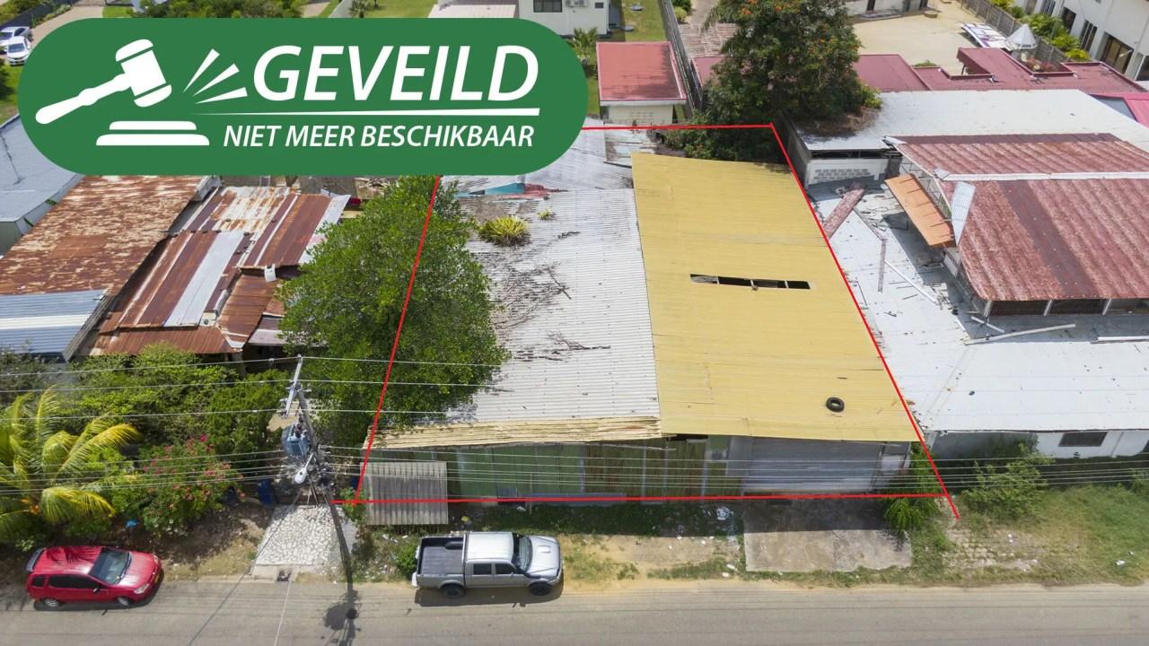 Dr. Axwijkstraat perceel 594A - Courant goed gelegen terrein te Rainville - Surgoed Makelaardij NV - Paramaribo, Suriname