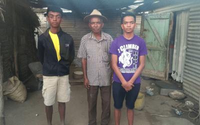 Des nouvelles de Francklyn et Olivier à Madagascar !