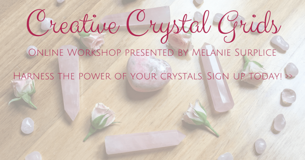 Creative Crystal Grids Online Workshop by Melanie Surplice