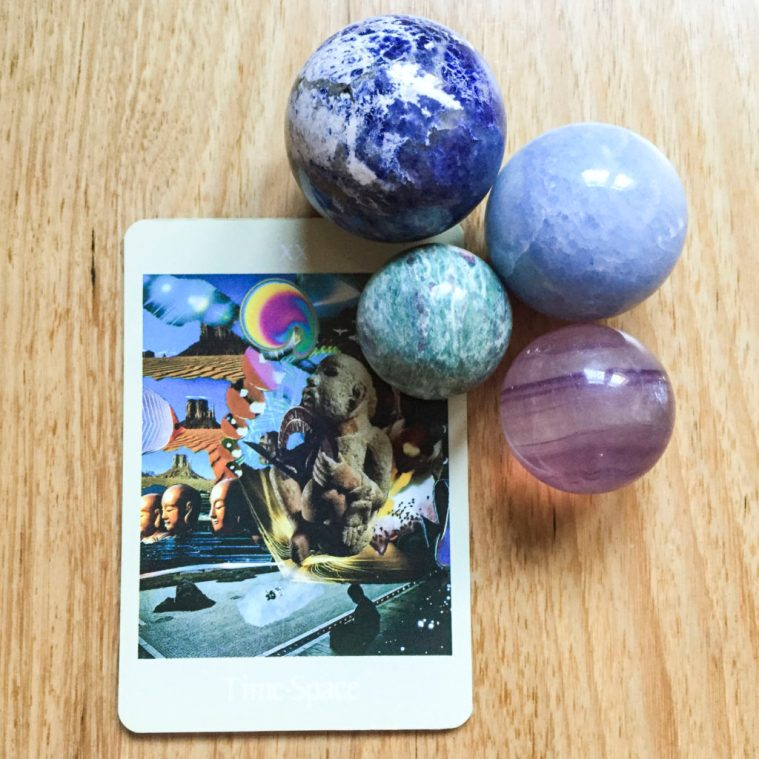 Card reading - Time Space