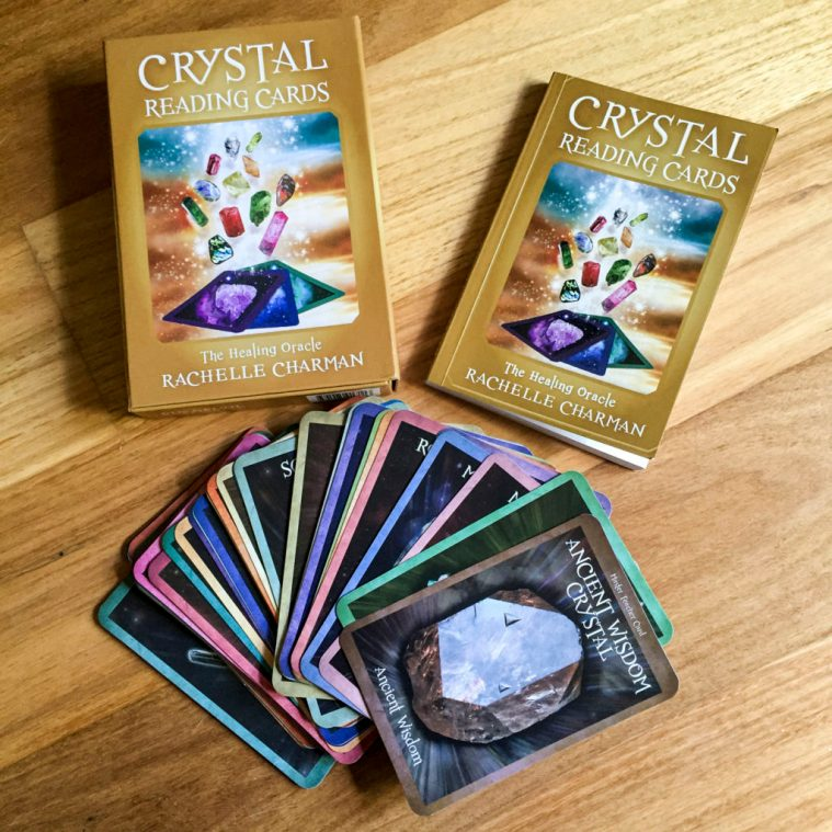 Crystal Reading Cards deck