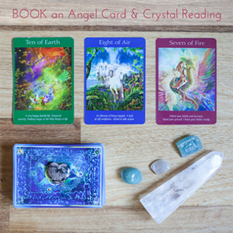 Book an online Angel & Crystal Card Reading With Melanie Surplice