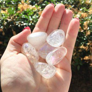 Angel Aura tumble stones