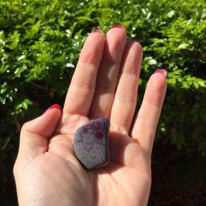 Sugilite specimen for sale - A Surplice of Spirit. Crystal Healing in Brisbane.