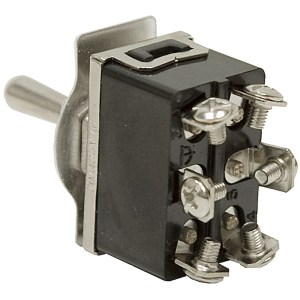 DPDTCO 20 Amp MomentaryMaintained Toggle Switch | Toggle