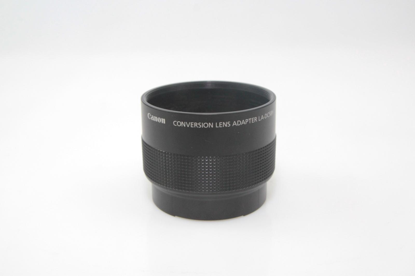 details about canon conversion lens adapter la dc58h for powershot g7 g9 digital cameras