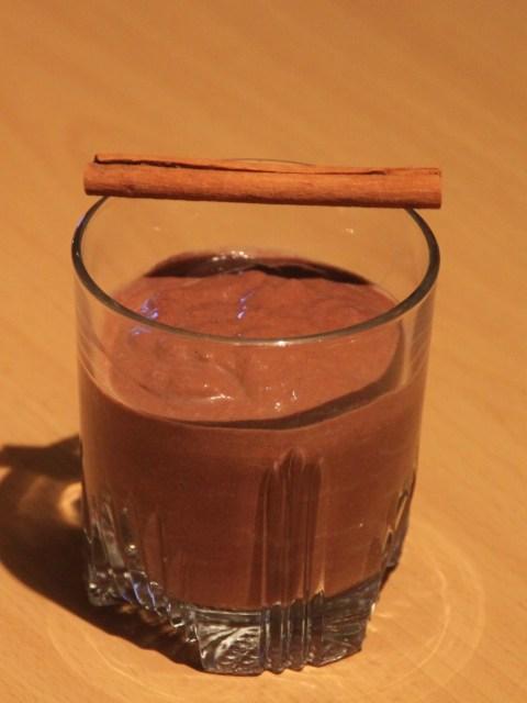 avocado kiwi cocoa smoothie