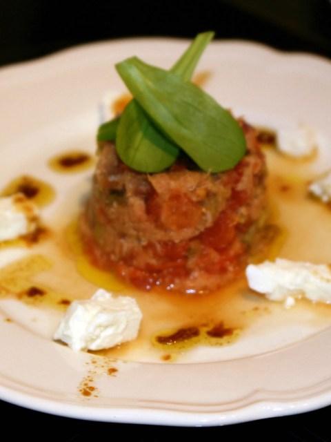 greek tuna fish starter