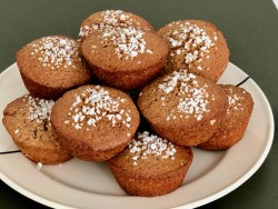 easy Flemish gingerbread muffins