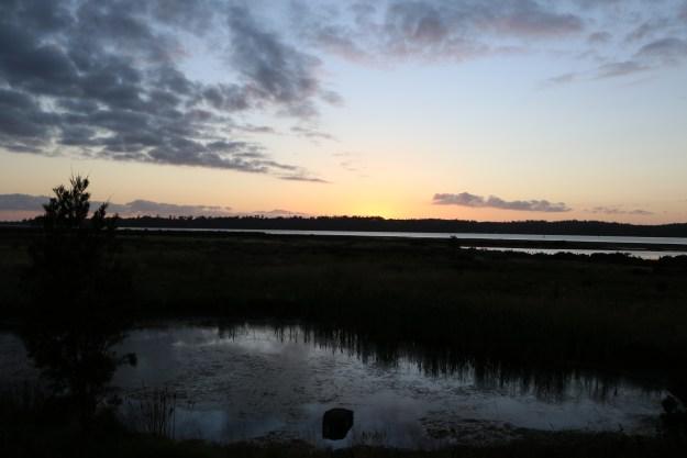 Dawn in St. Helen's