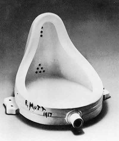 Fountain 1917 by Marcel Duchamp