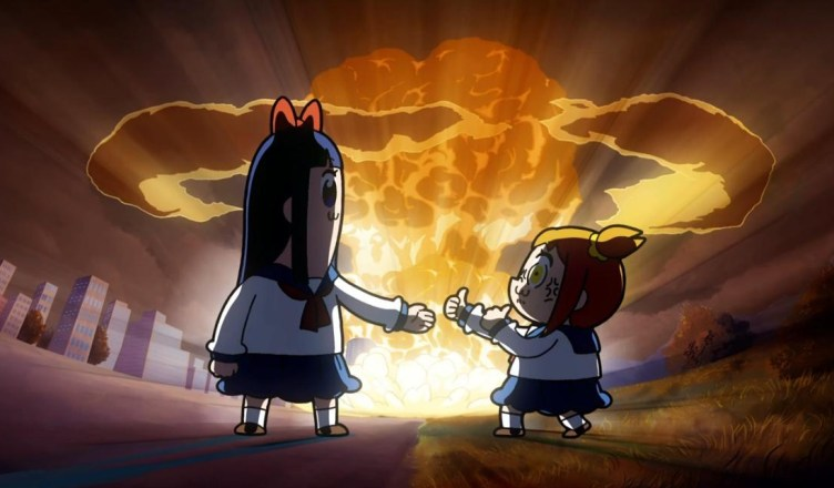 """Pop Team Epic – Episode 1 – """"You're The Only One I'm Telling"""