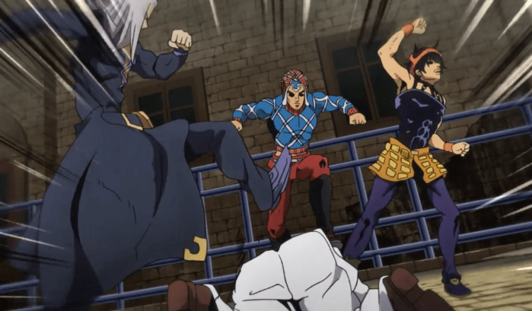 "JoJo's Bizarre Adventure: Golden Wind – Episode 22 – ""The 'G' In"