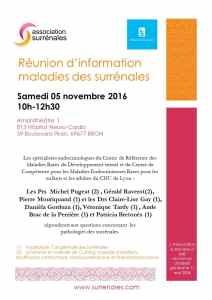 Réunion Lyon 5 novembre 2016