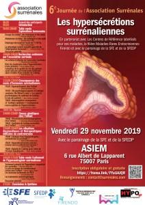 Journée scientifique sur les hypersécrétions surrénaliennes 2019