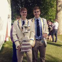 HPASS Athletes Ali Douglass and Harry Glenister after their Wyfold win at Henley Royal Regatta