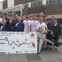 Rowing the Thames for Charity