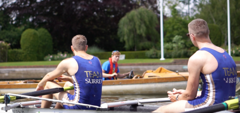 The Prince Albert Challenge Cup 4+ coached by Ali