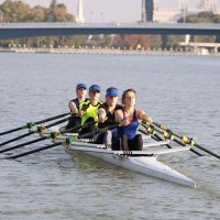 Senior women's quad