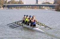 Senior women's quad