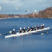 Novice Women at Peterborough Lake