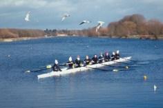 Novice Women at Peterborough Lake