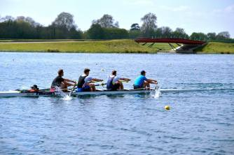 Men's 4+ at Dorney Training Camp