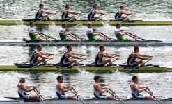 GBR 1 and 2 during racing. Credits to Merijn Soeters.