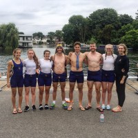 ELIMx8+ at Molesey Regatta