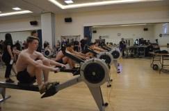 Beginner men ready to start their BUCS Indoors 1k
