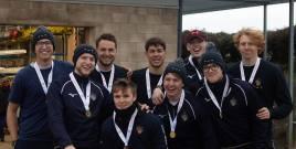 Men's beginner 8+ 'A ' gold medallists