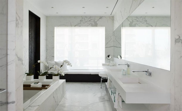 marble bathroom designs | surrey marble & granite |