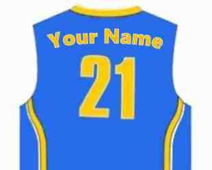 Blue unifom name