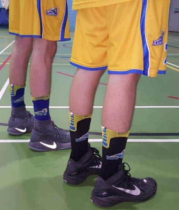 Surrey Rams Game Socks 930336fc2