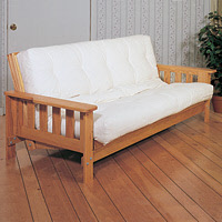 Amish Wood Futon