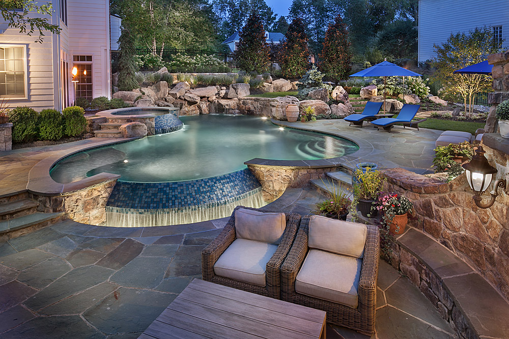 Backyard Ponds And Fountains
