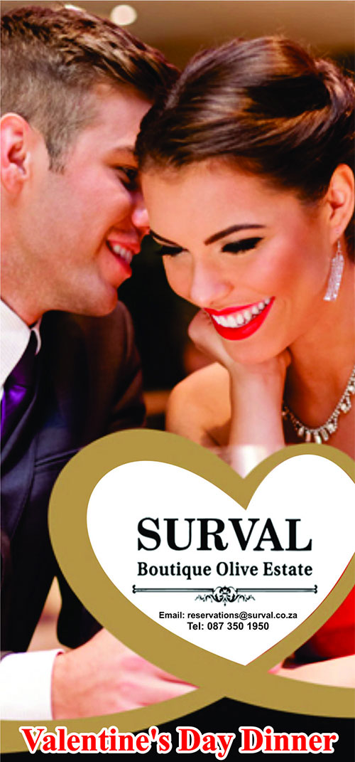 Valentine's Day at Surval Boutique Olive Estate