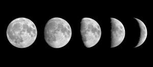 Il nord dalla luna